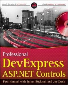 Kimmel P.T. - Professional DevExpress ASP.NET Controls [2009, PDF, ENG]