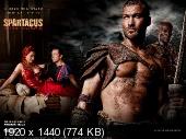 Спартак: Кровь и песок / Spartacus: Blood and Sand  / 2010 г., боевик, фэнтези, драма, HDTV 720p